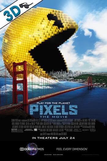 Pixels ATMOS 3D - 2015-07-24 00:00:00