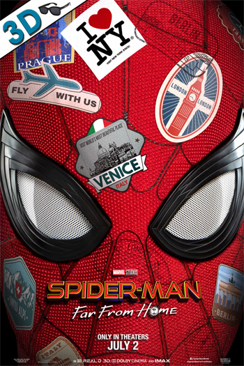 Spider-Man: Far From Home 3D - 2019-07-02 00:00:00
