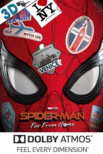 Spider-Man: Far From Home 3D ATMOS
