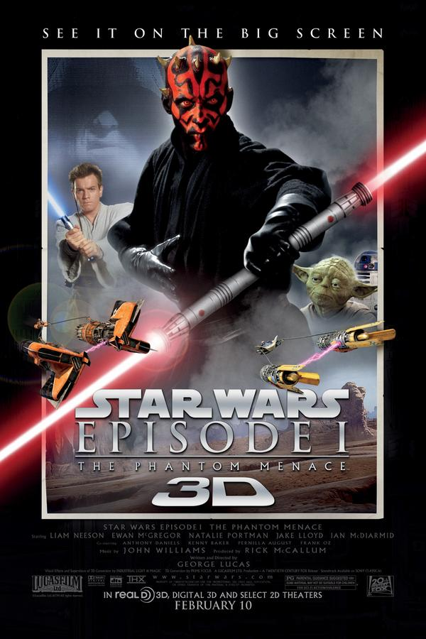 Star Wars: Episode I The Phantom Menace 3D