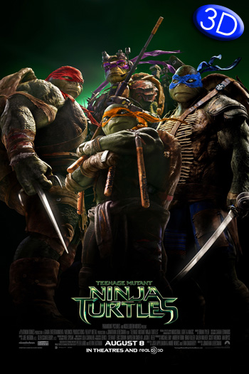 Teenage Mutant Ninja Turtles 3D - 2014-08-08 00:00:00