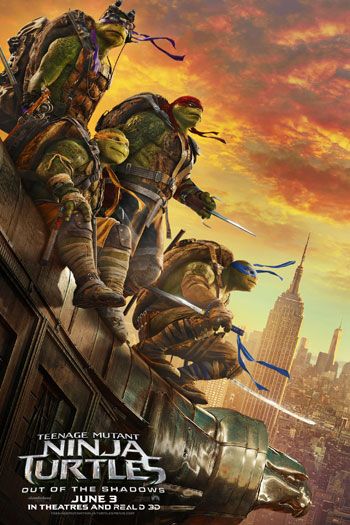 Teenage Mutant Ninja Turtles: Out of the Shadows - Jun 3, 2016