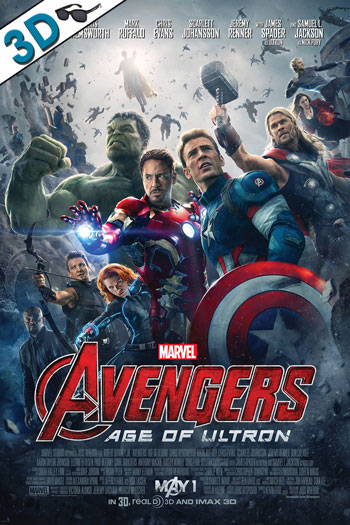 The Avengers Age of Ultron 3D - 2015-05-01 00:00:00