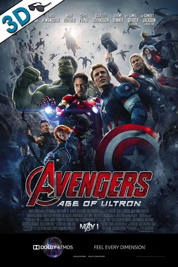 The Avengers Age of Ultron 3D ATMOS - 2015-05-01 00:00:00