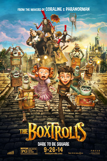 The Boxtrolls - Sep 26, 2014
