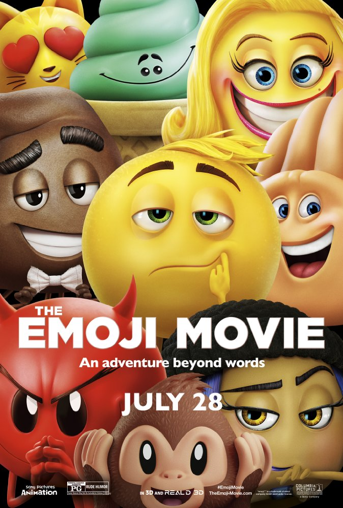 The Emoji Movie - Jul 28, 2017