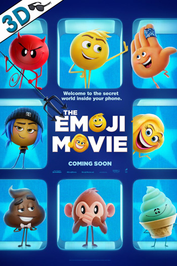 The Emoji Movie 3D - 2017-07-28 00:00:00