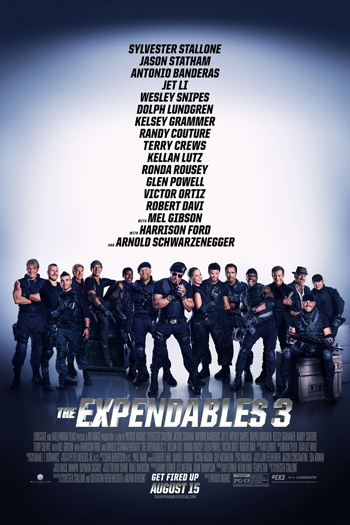 The Expendables 3 - Aug 15, 2014