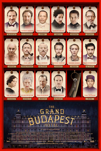 The Grand Budapest Hotel - Apr 4, 2014