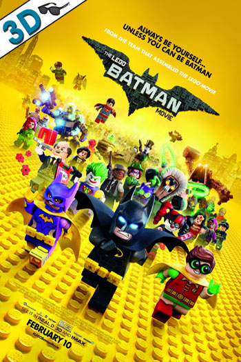 The LEGO Batman Movie 3D - 2017-02-10 00:00:00