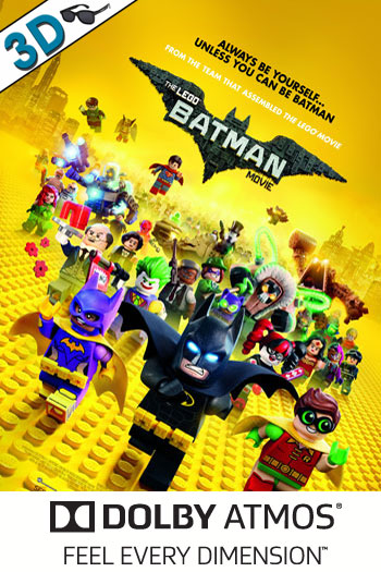 The LEGO Batman Movie 3D ATMOS - 2017-02-10 00:00:00