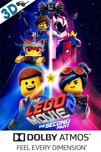 The LEGO Movie 2: The Second Part 3D ATMOS