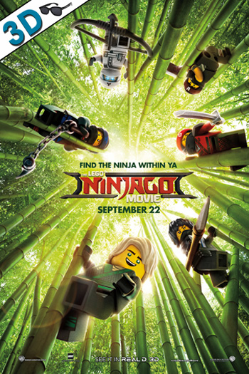 The LEGO Ninjago Movie 3D - 2017-09-22 00:00:00