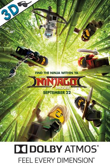 The LEGO Ninjago Movie 3D ATMOS - 2017-09-22 00:00:00