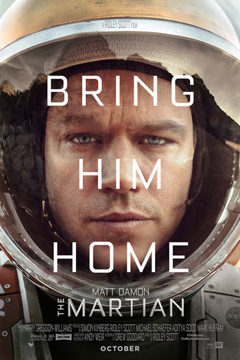 The Martian - Oct 2, 2015