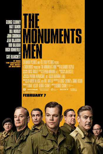 The Monuments Men - Feb 7, 2014