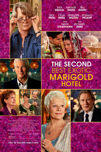 The Second Best Exotic Marigold Hotel - Mar 13, 2015