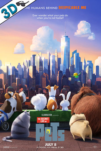 The Secret Life of Pets 3D - 2016-07-08 00:00:00