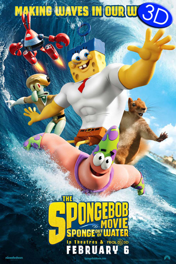 The Spongebob Movie: Sponge Out of Water 3D - 2015-02-06 00:00:00