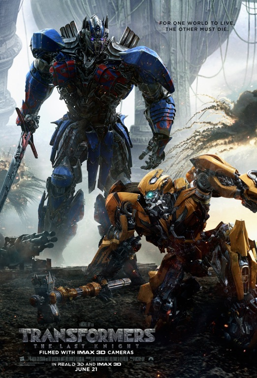 Transformers: The Last Knight - Jun 21, 2017