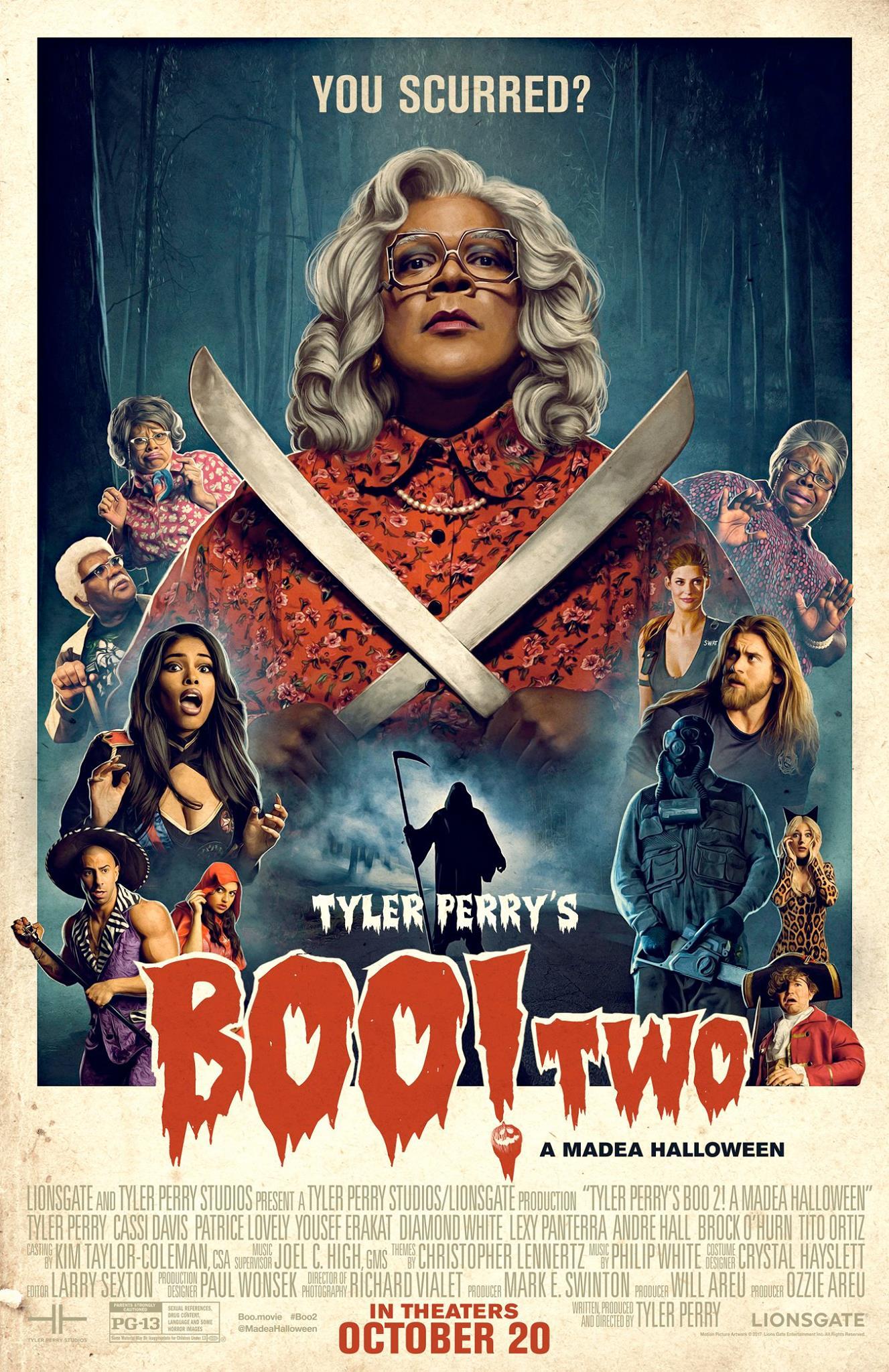 Tyler Perry's Boo 2! A Madea Halloween - Allen Theatres, Inc.