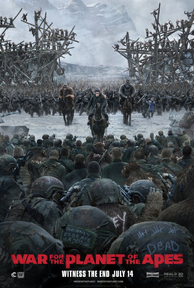 War for the Planet of the Apes - Jul 14, 2017