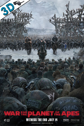 War for the Planet of the Apes 3D - 2017-07-14 00:00:00