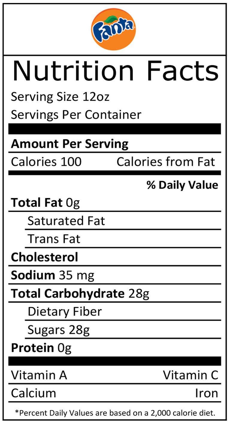 Nutritional Facts - Allen Theatres, Inc.