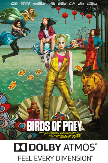 Birds of Prey (And the Fantabulous Emancipation of One Harley Quinn) ATMOS - 2020-02-07 00:00:00
