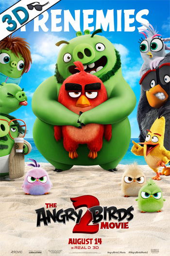 The Angry Birds Movie 2 3D - 2019-08-14 00:00:00